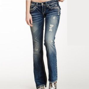 Silver Tuesday distressed jeans 29